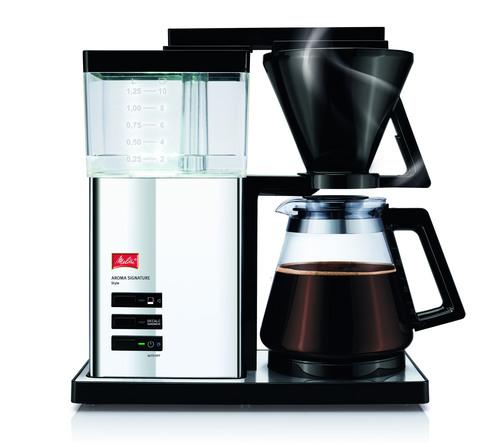 Melitta Aroma Signature Style Kaffebryggare - Krom