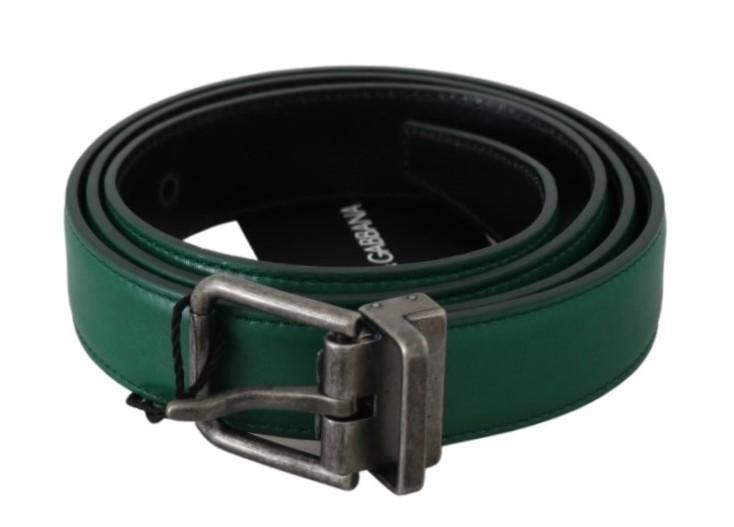Dolce & Gabbana Men's Buckle Waist Men Leather Belt BEL60477 - 100 cm / 40 Inches