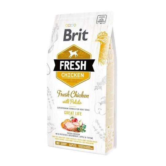 Brit Fresh Chicken with Potato Adult (2,5 kg)