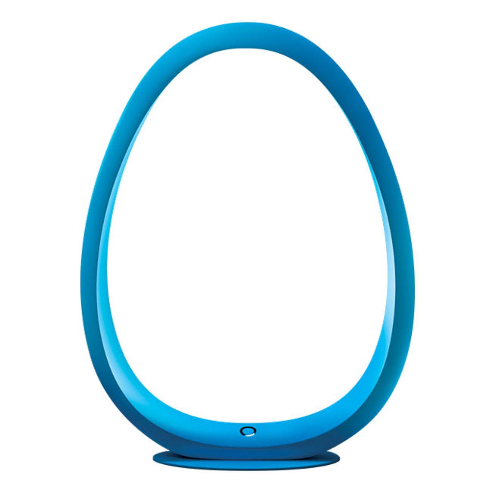 TRAE Umi LED-bordlampe 5 000 K blå