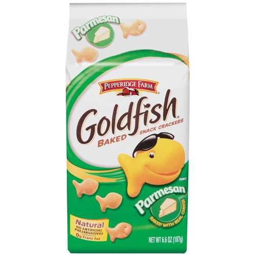Pepperidge Farm Goldfish Crackers Parmesan 187g