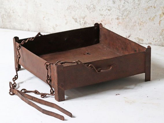 Traditional Indian Fire Bowl Brown