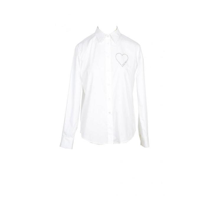 Love Moschino Women's Shirt White 170382 - white 44