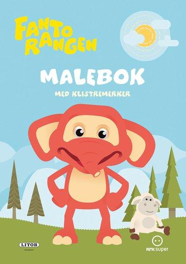 Fantorangen Malebok Med Klistremerker