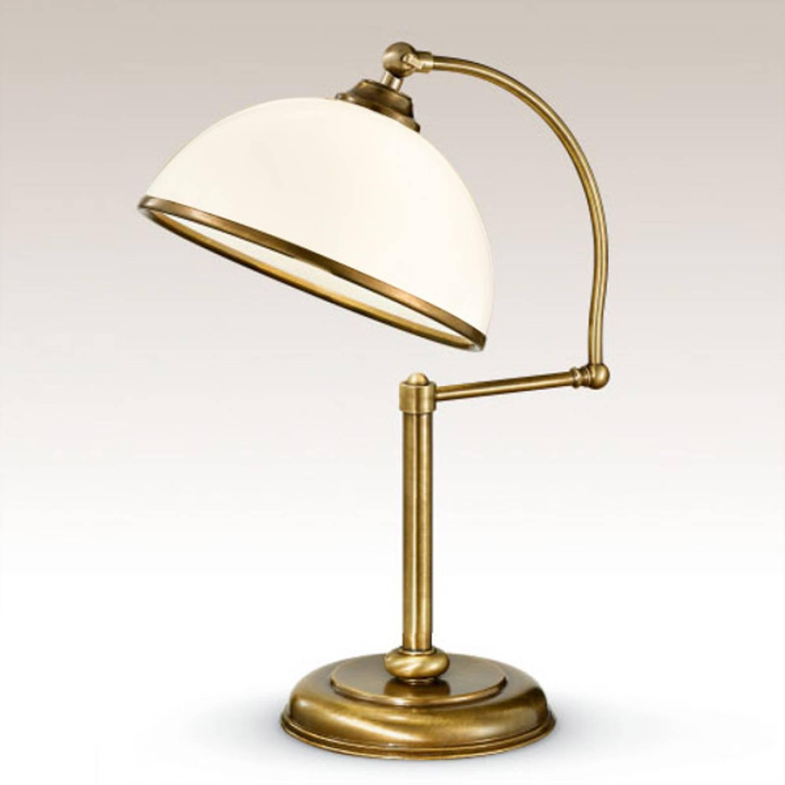 Justerbar La Botte bordlampe i hvitt