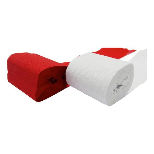 Kräpprullar Röd/Vit - 2-pack