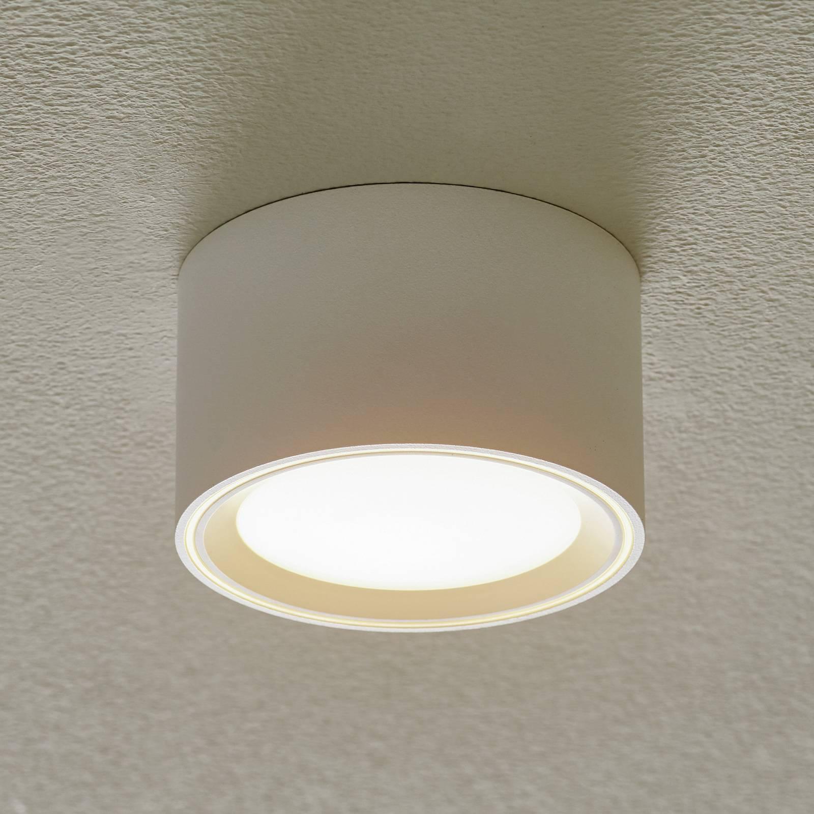 Fallon-LED-kattovalaisin, korkeus 6 cm