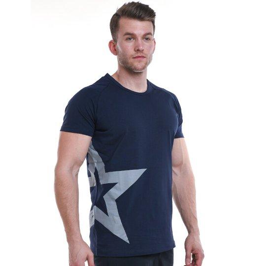 Star Nutrition Raglan T-shirt, Navy Blue