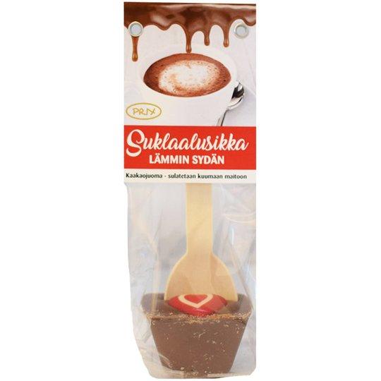 Chokladsked till varm choklad hjärtan - 55% rabatt