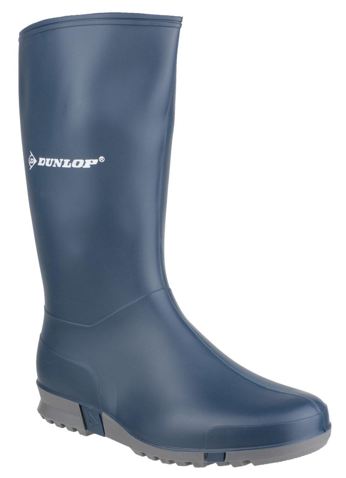 Dunlop Women's Sport Wellington Boot 08457 - Blue 2