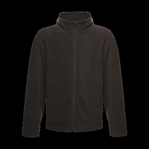 Regatta Kid's Brigade II Full Zip Fleece Jacket Various Colours T_TRF515 - Black 7/8 Years