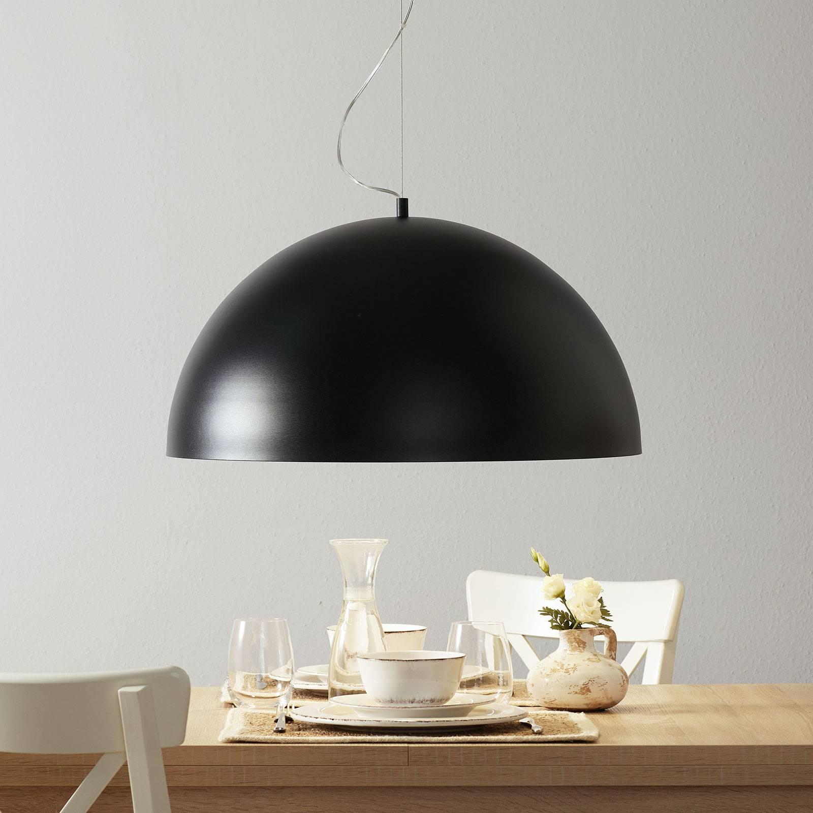 Lucande Maleo -riippuvalaisin 65 cm musta