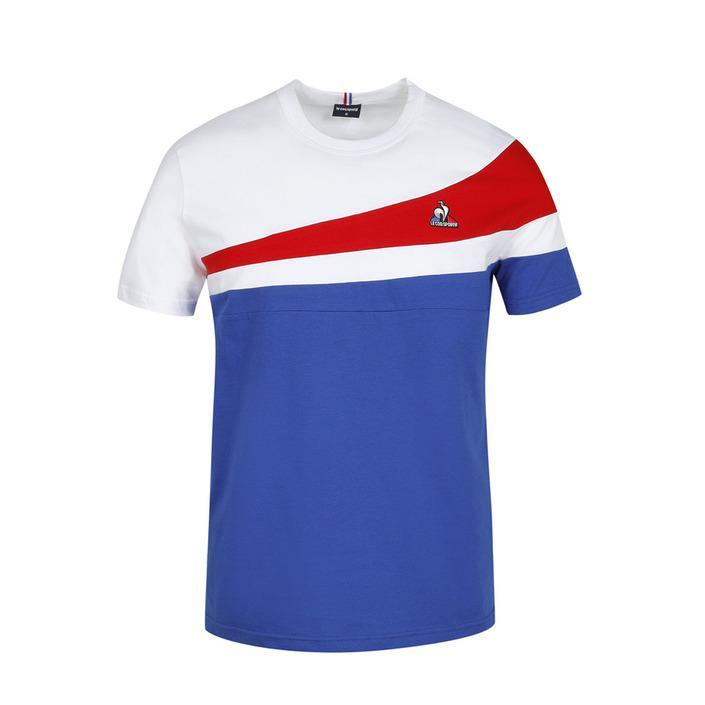 Le Coq Sportif Men's Polo Shirt Blue 270775 - blue M