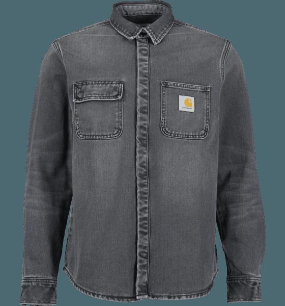 Carhartt M Salinac Shirt Jacket Jackor BLACK