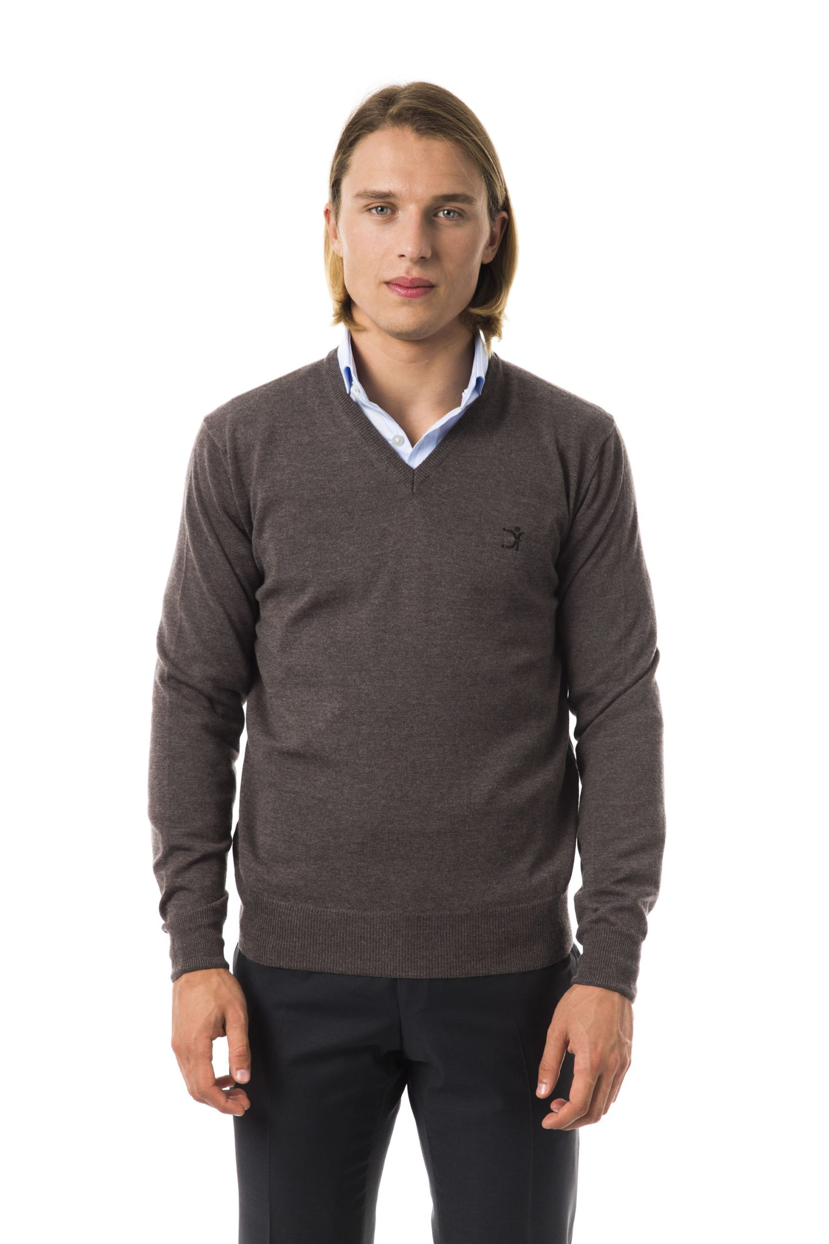 Uominitaliani Men's Noce Sweater Gray UO815828 - S