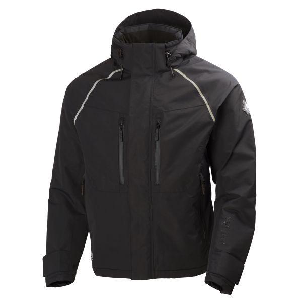 Helly Hansen Workwear Helly Tech Arctic Jacka svart, vatten- och vindtät XS