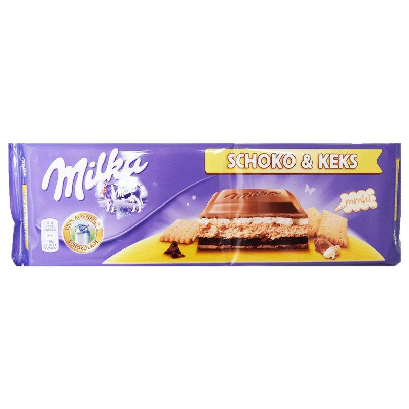 """Chokladkaka """"Schoko & Keks"""" 300g - 44% rabatt"""