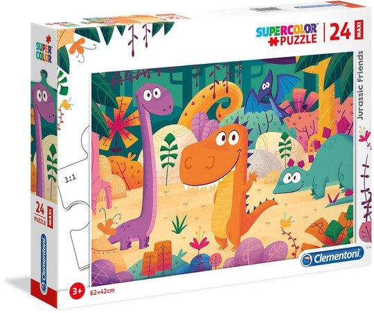 Clementoni Dinosaurer Puslespill 24 Brikker