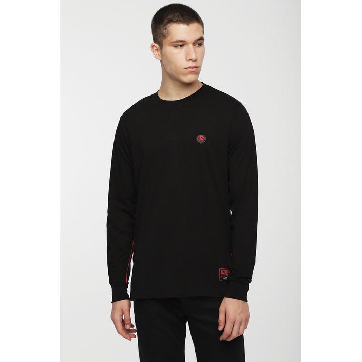 Diesel Men's T-Shirt Black 294051 - black XS