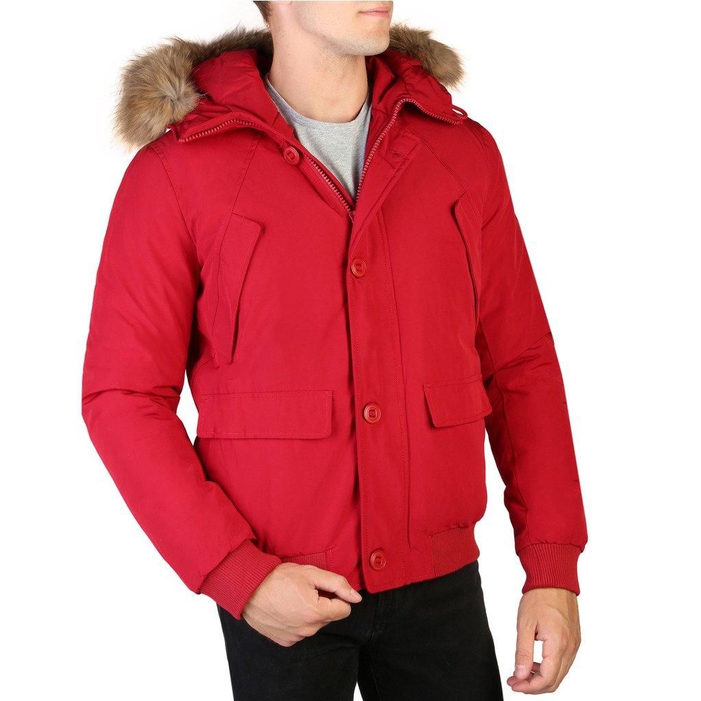 Alessandro Dell'Acqua Men's Jacket Red 348327 - red M