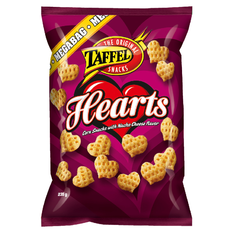 Taffel Hearts Mega - 41% alennus