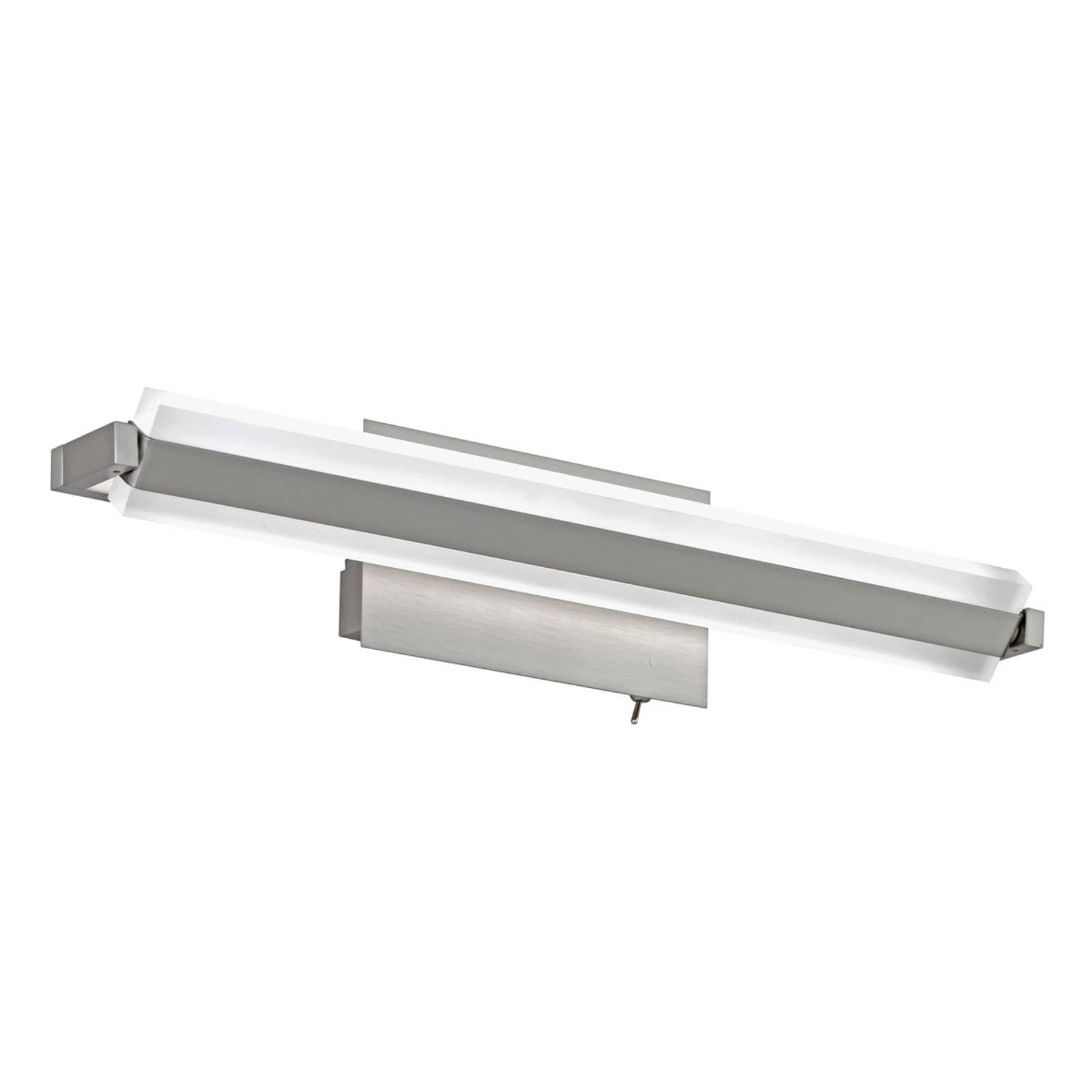 LED-vegglampe Turn med bryter, 46 cm