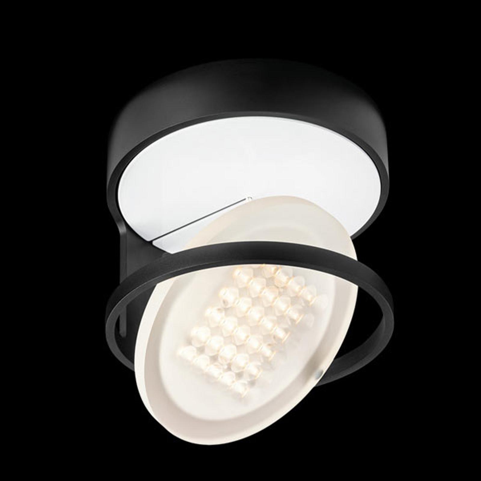 Nimbus Rim R 36 LED-kattovalaisin, grafiitti