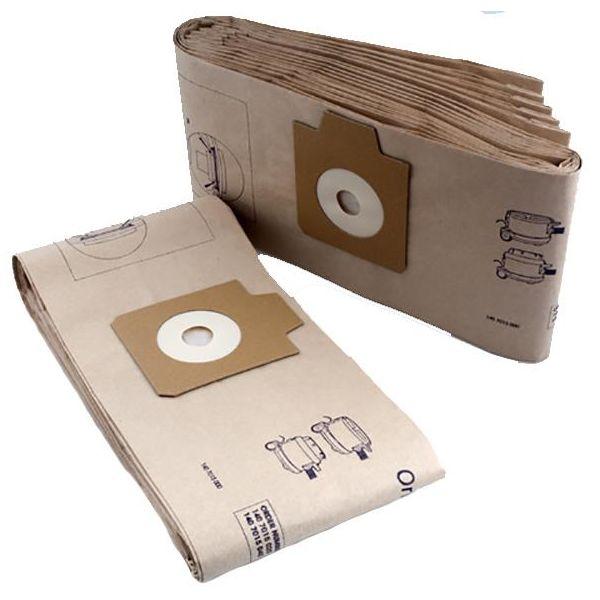 Nilfisk 1407015040 Pölypussi 10 litraa, 10-pakkaus