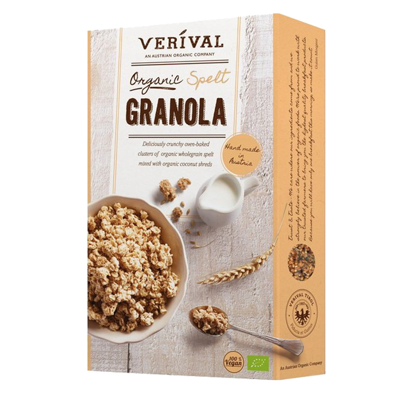 "Eko Granola ""Dinkel"" 375g - 32% rabatt"