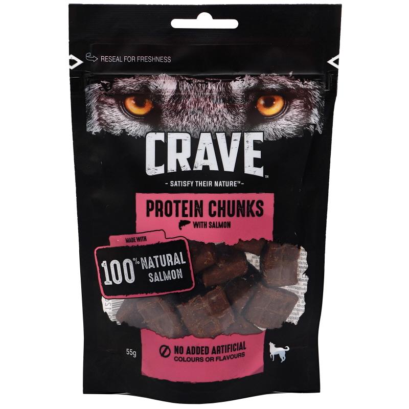 Koiranruoka Protein Chunks Lohi - 41% alennus