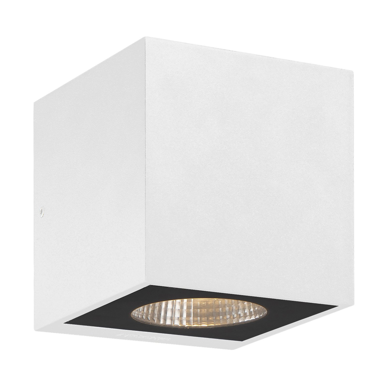Arcchio Tassnim LED-vegglampe hvit 1 lyskilde