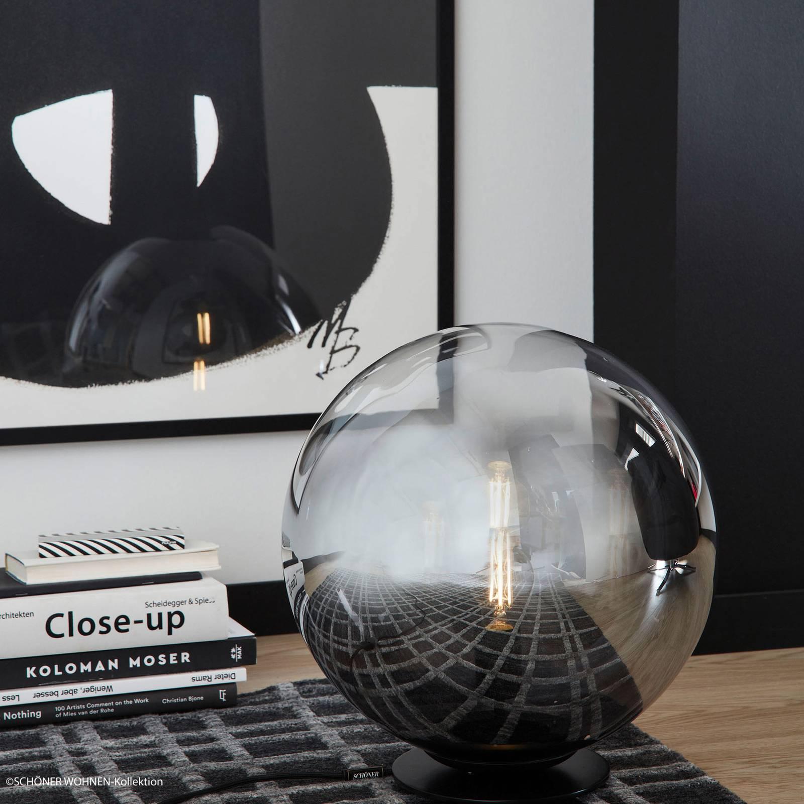 Schöner Wohnen Mirror -pöytävalaisin, Ø 30 cm