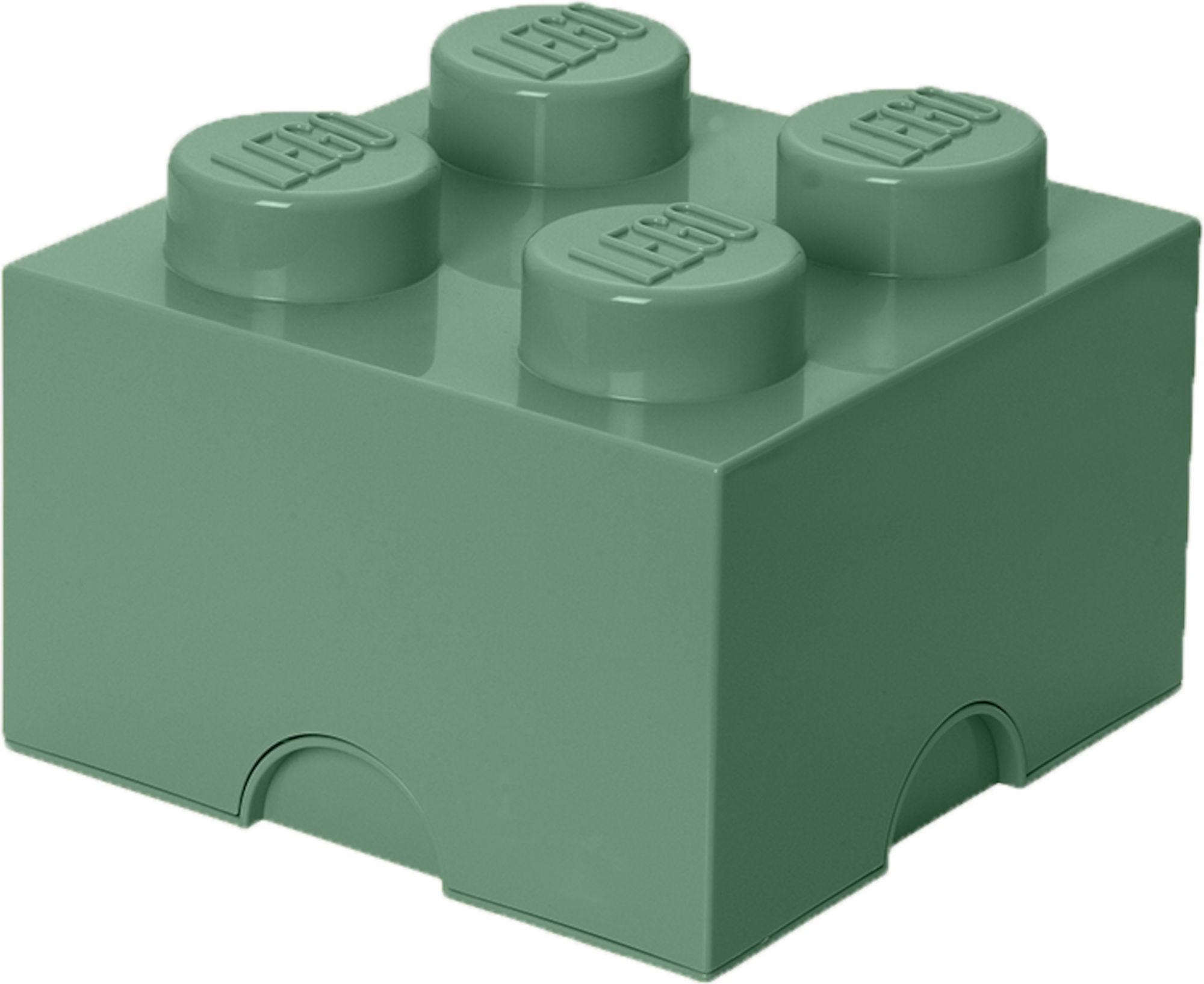 LEGO 4 Säilytyslaatikko, Tummanvihreä