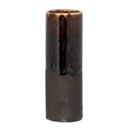 Vase Brun Stentøy 5x15 cm