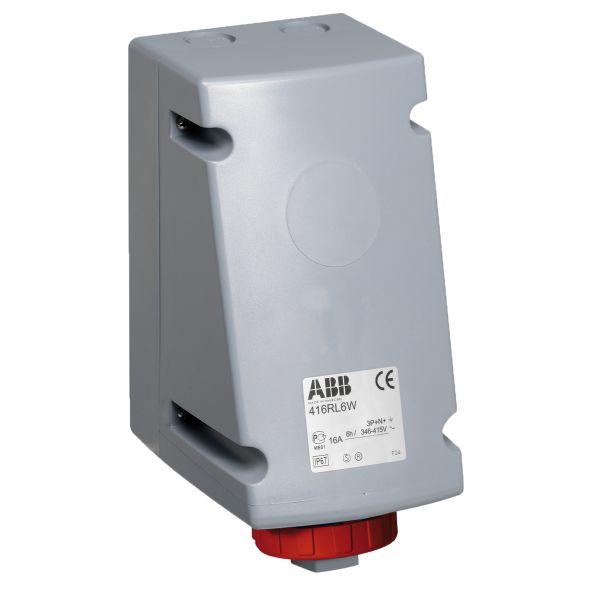 ABB 2CMA168475R1000 Seinäpistorasia IP67, 400 V, edelleensyöttöön