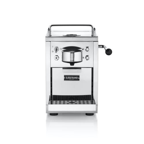 Sjöstrand Espresso Identity Scc01 Kapselmaskin - Stål