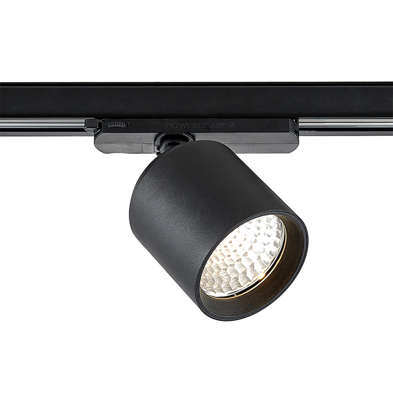 Arcchio Candra -LED-kiskospotti musta 26W 3 000 K