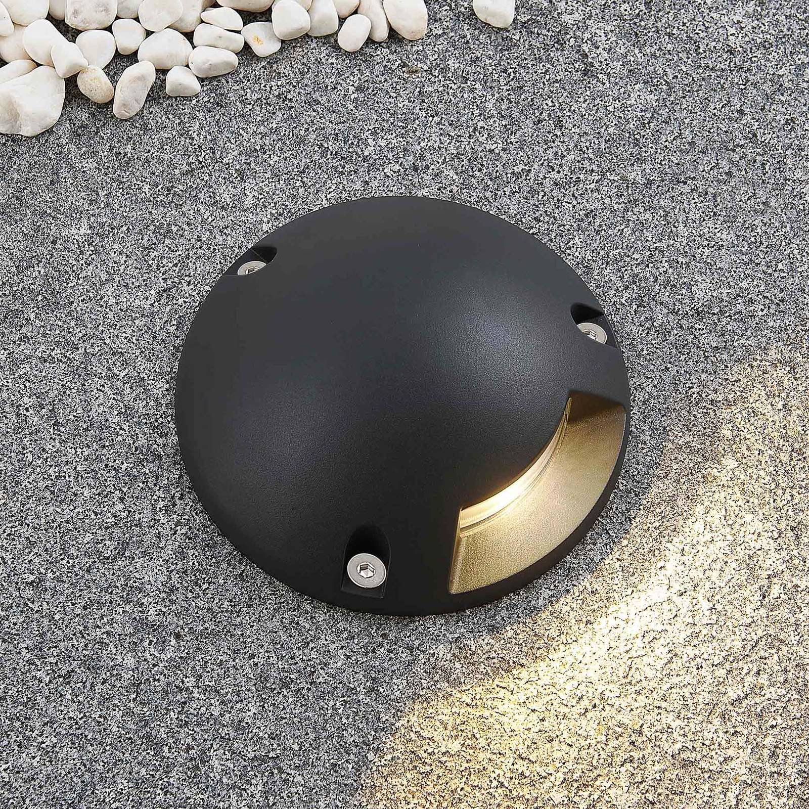 Lindby Huban -LED-uppovalo, 1-lamppuinen