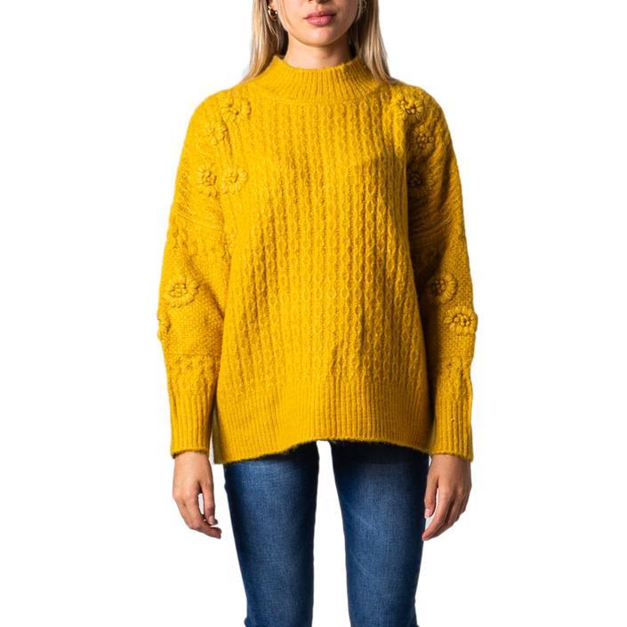 Desigual Women's Sweater Yellow 176875 - yellow M
