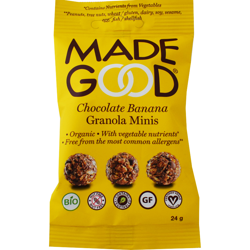 Eko Granolabollar Choklad & Banan - 30% rabatt