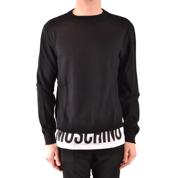 Moschino Men's Sweater Black 167006 - black 48