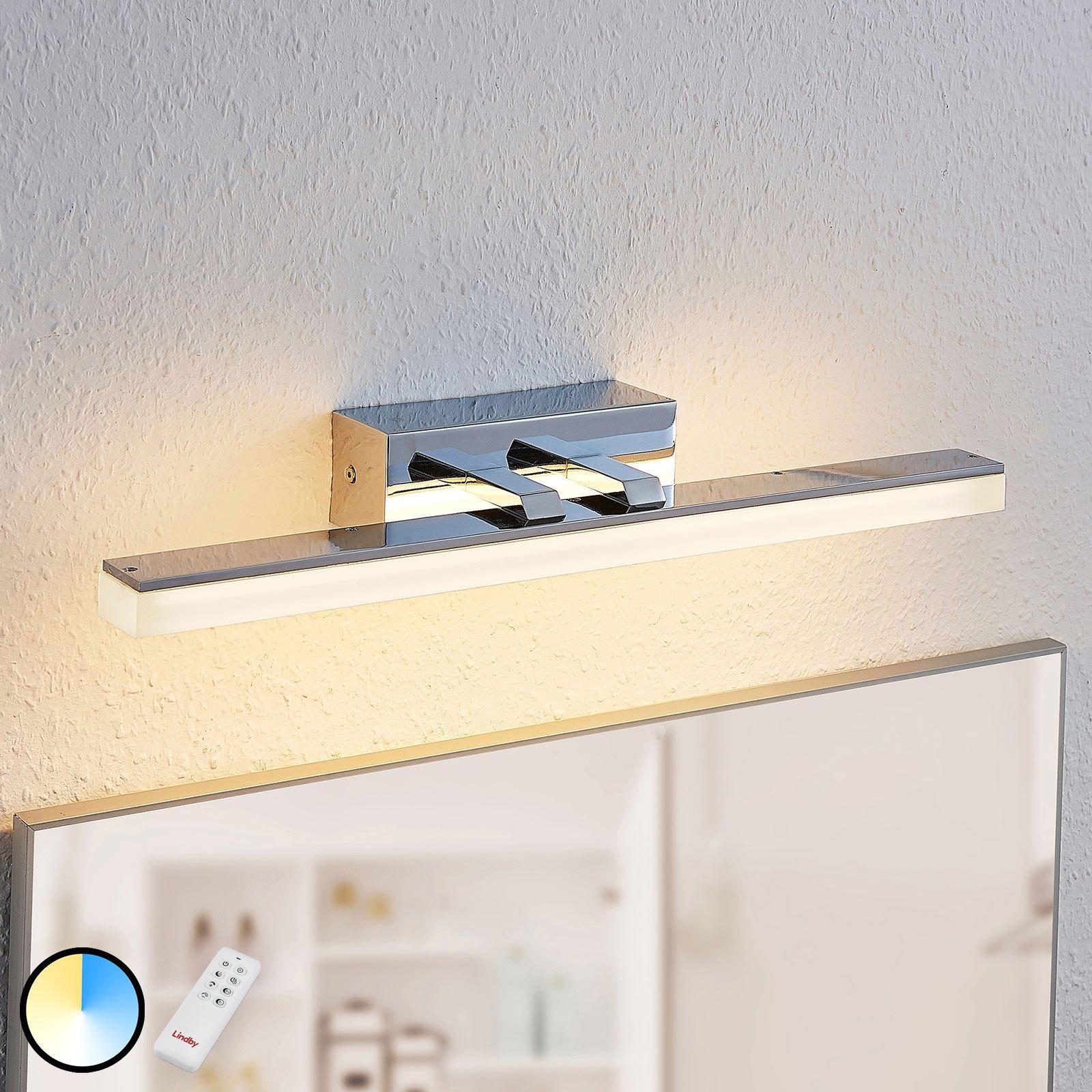 LED-speillampe Bernie CCT, IP44, 46 cm