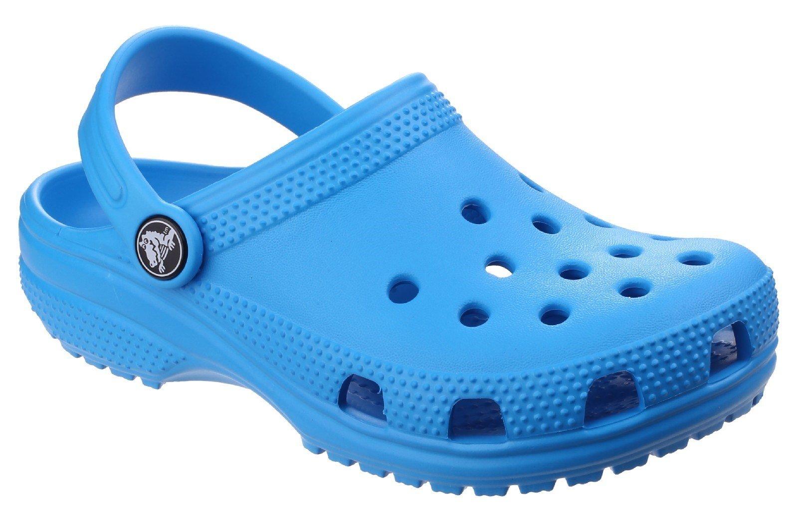 Crocs Kid's Classic Clog Slip On Sandal Various Colours 25239 - Ocean 5 UK