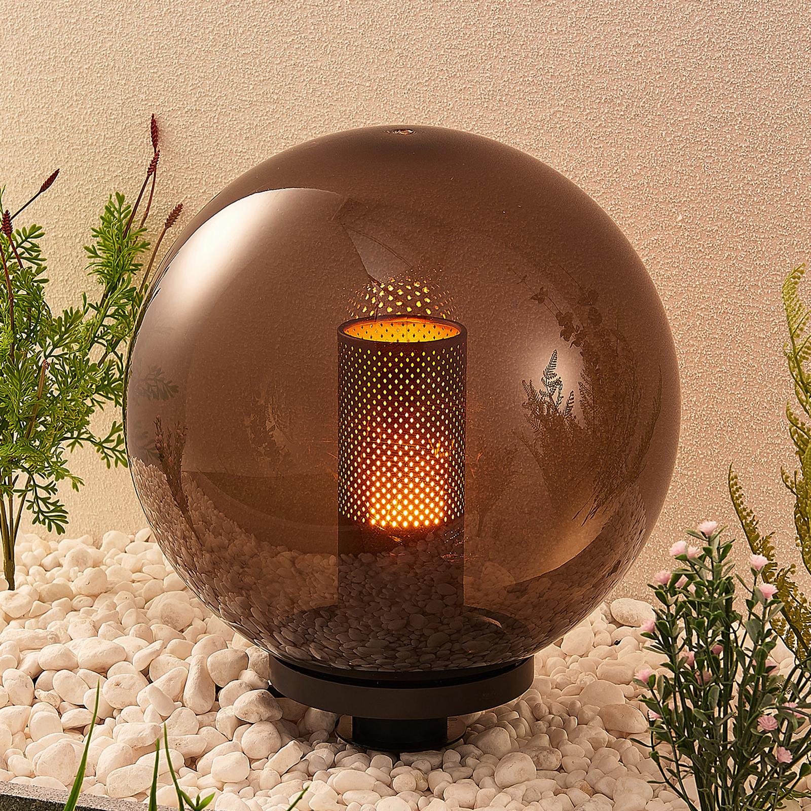 Lindby Kibara -koristevalaisin, pallo, Ø 30 cm