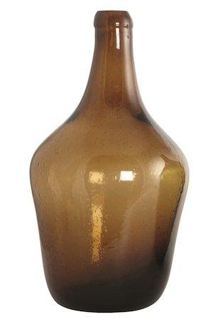 Glassflaske Rec 41 cm - Brun