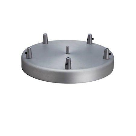 Takrondell Oksidert grå D320 oppheng på takkrok m/5 pendler