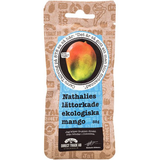 Luomu Mango Kuivattu - 33% alennus