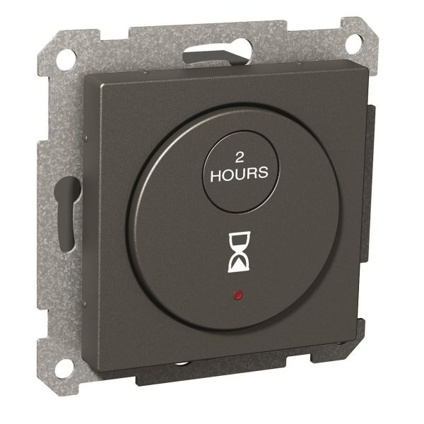 Schneider Electric Exxact Timer 2-polet Antrasitt
