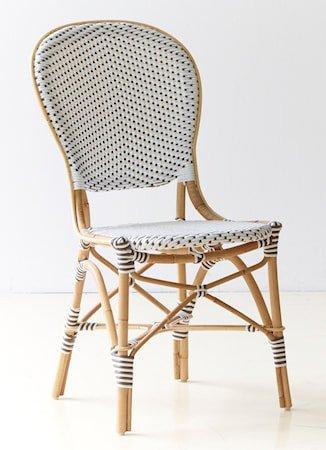 Isabell stol - Hvit