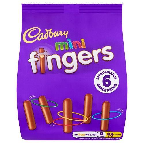 Cadbury Mini Fingers 115.8g
